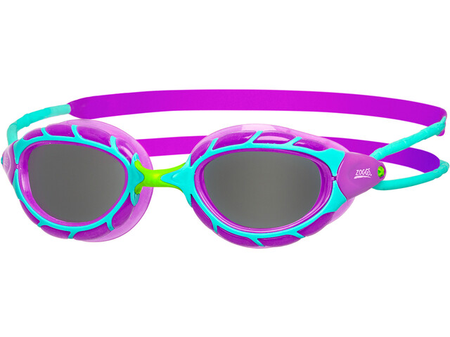 Zoggs Predator Goggles Kinder purple/light blue/smoke